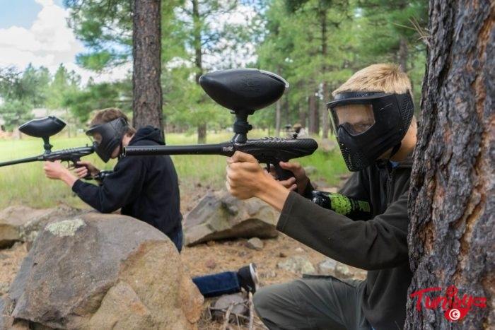 A Paintball Game